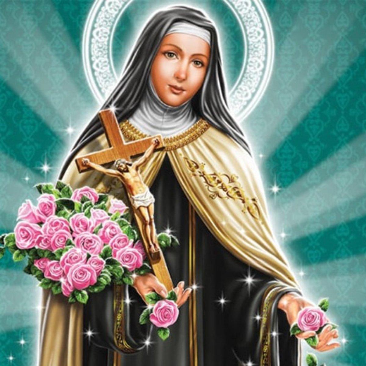 Oração das Rosas de Santa terezinha
